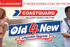 Coastguard Old 4 New Lifejacket Upgrade