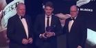 Watch: Focus: Beauden Barrett wins big at World Rugby Awards