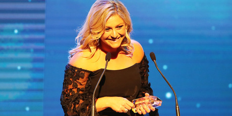Toni Street won Television Personality of the Year. Photo / Getty
