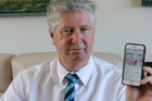 Whangarei man Barry Joblin used a cell phone app to identify a potentially fatal melanoma. Photo / John Stone