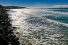 St Clair Beach. Photo / Alexia Santamaria