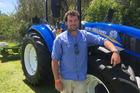 Kaponga contract milker Guy Harvey.