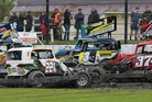 Big fields of stockcars will race for the PGG Wrightson New Zealand Stockcar Grand Prix at Stratford Speedway this weekend.