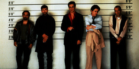 Kevin Spacey, right, in The Usual Suspects.