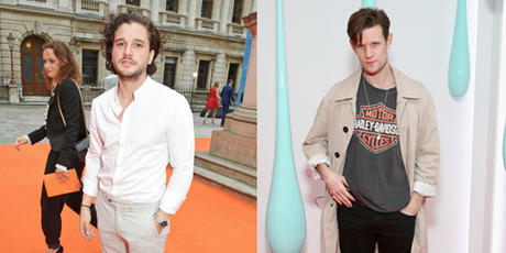 Kit Harington topped the worst dressed while Matt Smith was voted the best. Photo / Getty Images