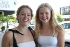 L-R: Hannah Brittin, Hastings, Grace Heavey, Havelock North - video vox-pop - re a document released today: Report of the Havelock North Drinking Water Enquiry Stage Two, What do you think of today�s recommendation to have all water