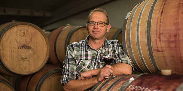 BEST PRODUCER: Vidal Estate winemaker Hugh Crichton said the Raymond Chan Winery of the Year award tops off a great year for his team. Photo/Supplied.