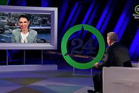 Prime Minister Jacinda Ardern talks to Al Gore in 24 Hours of Reality. Photo / Screengrab
