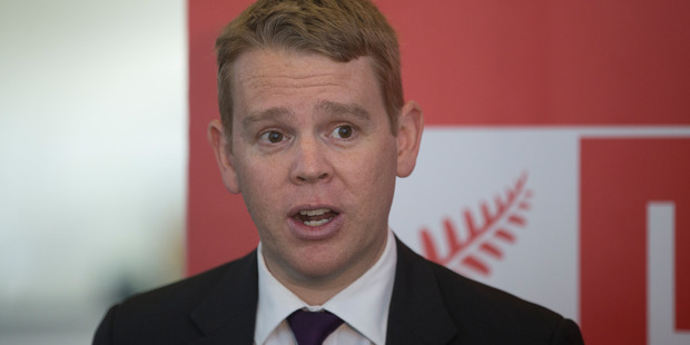 Chris Hipkins says about 80,000 students and trainees will benefit from the fees-free policy in its first year. File photo
