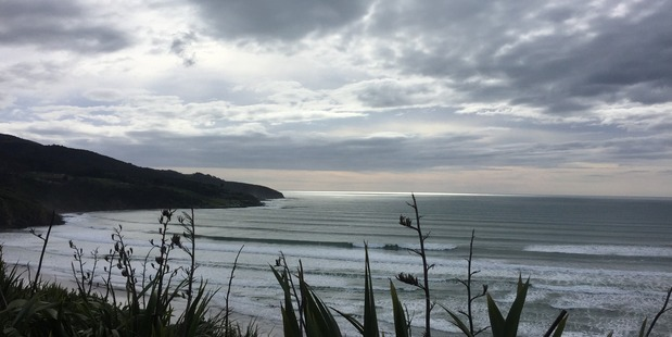 Police search and rescue teams will head out to Papanui Point, south of Raglan [pictured], to investigate. Photo / Belinda Feek