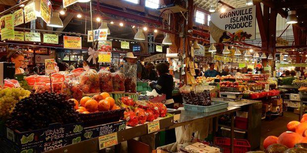Granville Island Market.