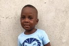 'Hope' , the Nigerian boy found a year ago by a Danish aid worker, has made an amazing recovery and is due to start school