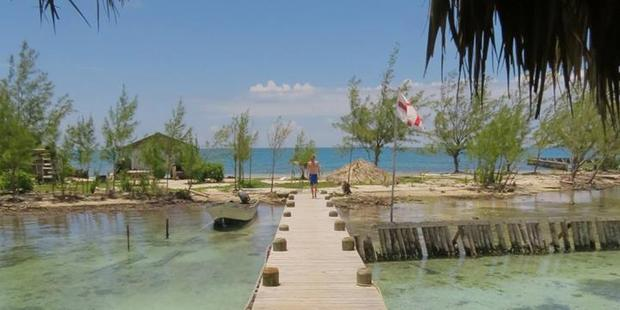 Virginia Caye, off the coast of Belize. Photo / Facebook