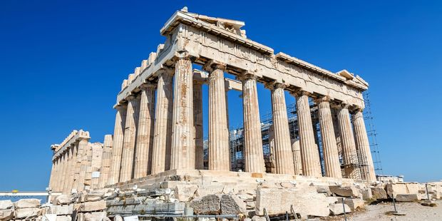 The Parthenon was built at the zenith of ancient Greek culture and power. Photo / 123RF