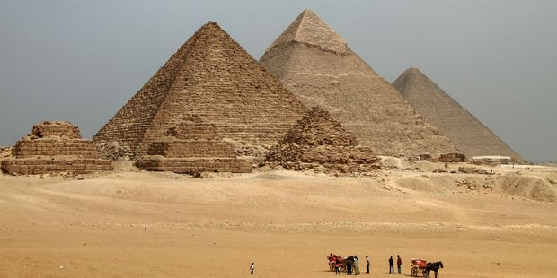 For nearly 4000 years the Great Pyramid of Cheops was the world's tallest building. Photo / 123RF