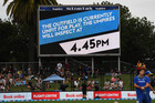 Fans waited almost five hours before the second ODI was officially abandoned. Photosport
