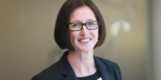 Pictured is Kate Jorgensen Chief Financial Office at KiwiRail. Photo / Doug Sherring