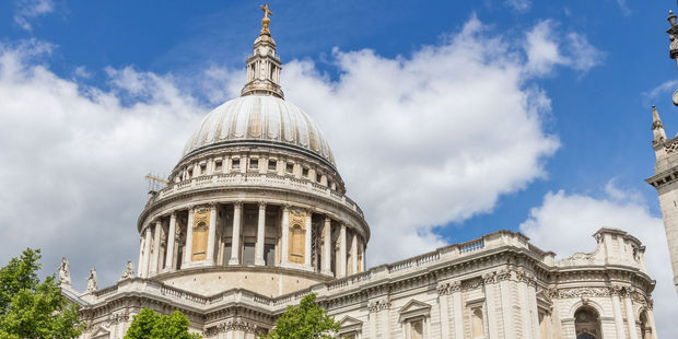 St Paul's Cathedral. Photo / 123RF