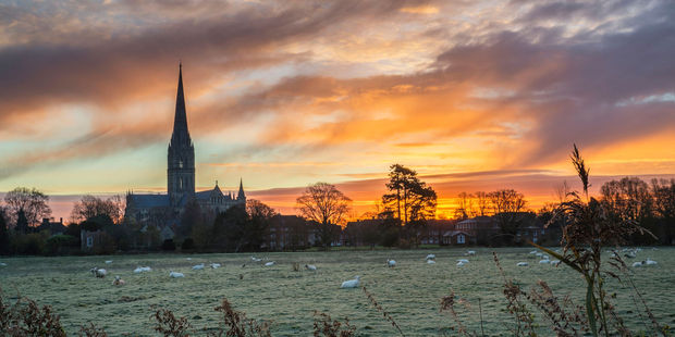 Salisbury Cathedral is the stuff of high Gothic drama. Photo / 123RF