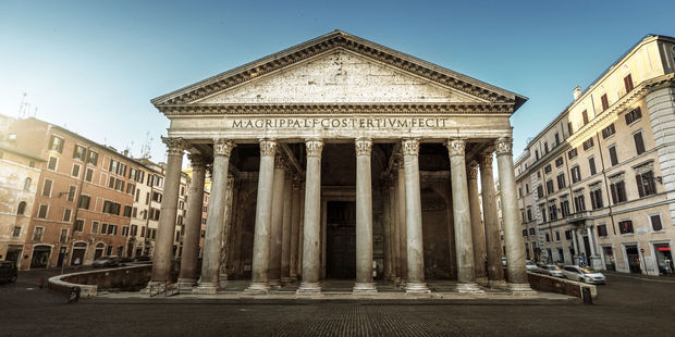 The Pantheon has survived the decline and fall of the Roman Empire and the onslaught of Gothic invaders. Photo / 123RF
