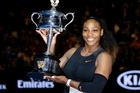 After a tense start, Serena Williams defeats sister Venus to take the Aussie Open title and beat Steffi Graf's record for most major titles in the modern era