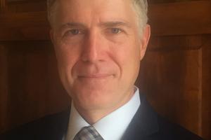Judge Neil Gorsuch. Photo / AP