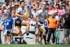 Shaun Johnson in action during last year's NRL Nines. Photo / Greg Bowker