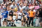 The New Zealand Warriors Shaun Johnson
