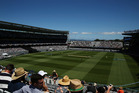 General view during the first One Day International game between New Zealand and Australia. Photo / Eden Park.