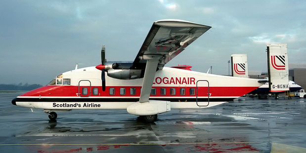Passengers on the flight with Scottish carrier Loganair were allowed to board without being screened or having bags checked. Photo / Flickr, aceebee