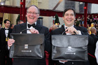 The accountants behind the Oscar winners in previous years. Photo / Getty Images