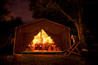 Glamping is luxurious, but it misses the point of camping. Photo / Getty Images