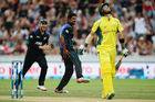 Ish Sodhi will be hoping for a similar performance to his showing last year in Hamilton. Photo / Getty