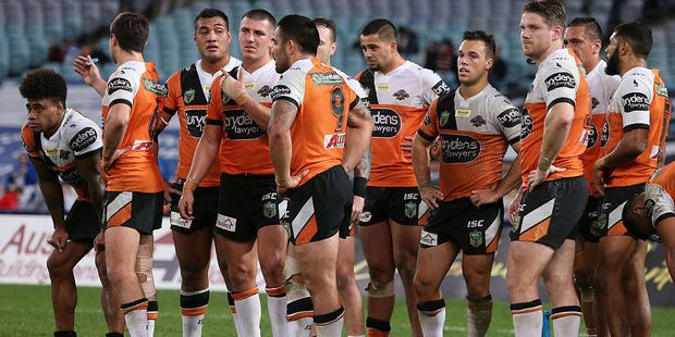 Moses Suli could soon be joining the Wests Tigers in first grade. Photo / Getty