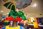 A LEGO dragon greets guests at the LEGOLAND California Resort Hotel at LEGOLAND. Photo / Getty