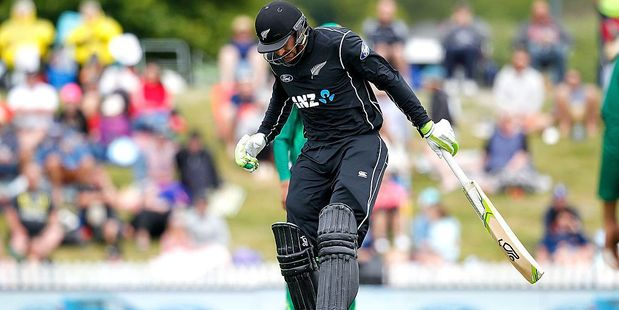 Martin Guptill is out with a hamstring injury. Photo / Getty