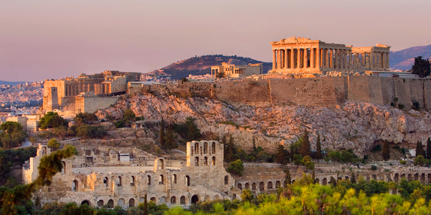 The Acropolis and the Parthenon weren't coming to me, so I needed to go to them. Photo / Getty Images