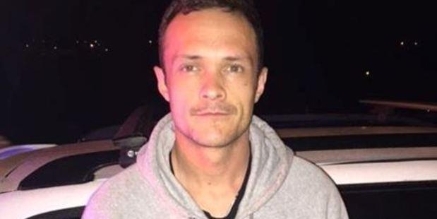 Matthew Vernall. Photograph supplied New Zealand Police.