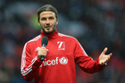David Beckham speaks to the crowd before the UNICEF Match For Children charity football match. Photo/Photosport