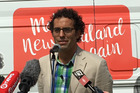 The newly formed party has put forward its chief of staff, Geoff Simmons, to contest the Mt Albert seat.