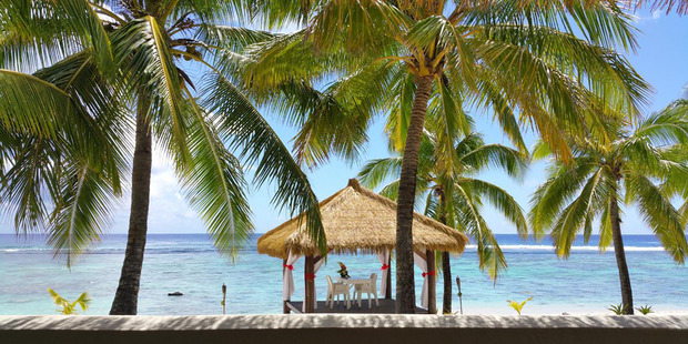 Crown Beach Resort and Spa on Rarotonga - where Vanessa was to have her wedding. Photo / Supplied