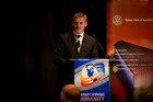 National leader Bill English during his State of the Nation speech. Photo / Dean Purcell