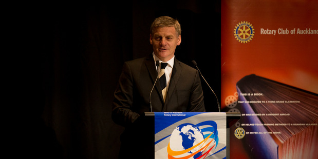 Loading National leader Bill English during his State of the Nation speech. 02 February 2017 New Zealand Herald Photograph by Dean Purcell.