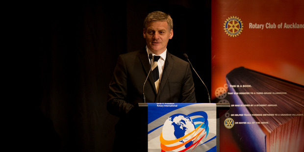 Loading National leader Bill English during his State of the Nation speech. Photo / Dean Purcell