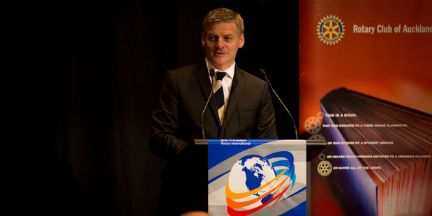 Prime Minister Bill English announced the crime-fighting plan during his State of the Nation speech. Photo / Dean Purcell