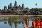 In 2016, 2.2 million people of the five million tourists travelling to Cambodia visited Angkor temples. Photo / Supplied