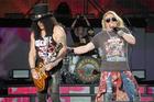 Guns N' Roses perform at Western Springs Stadium. Photo / Steven McNicholl