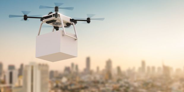 Drones are small, fast, agile, self-guiding, and can carry things. Photo / 123RF