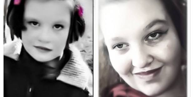 Ruby Knox as a young girl and a teenager. Photo / Supplied