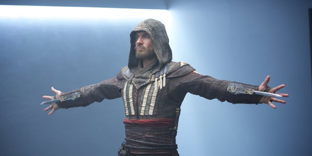Loading Assassin's Creed, featuring  Michael Fassbender, was released earlier this month.